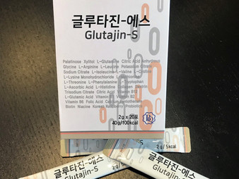 외국 수출전용 제품 글루타치온진 스틱형 제품 출시