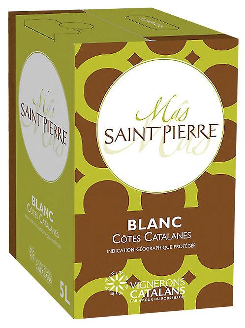 Mas Saint Pierre Cotes Catalanes Blanc - Bag-in-box