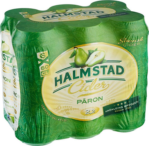 Halmstad Cider Päron 2,2% 6-pack
