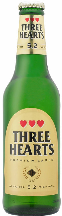 Three Hearts Premium 5.2% 50cl