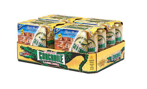 Crocodile Original 2,8% 6-pack