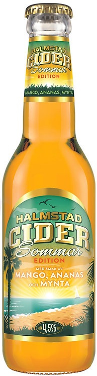 Halmstad Cider Mango Ananas Mynta 4.5% 33cl