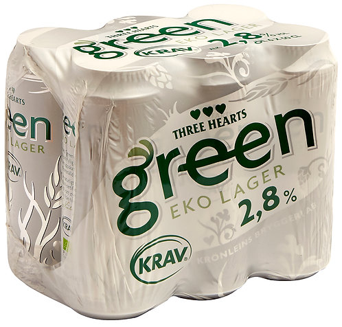 TH Green KRAV 2,8% 6-pack