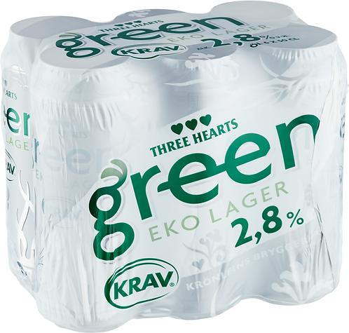 TH Green KRAV 2,8% 6-pack