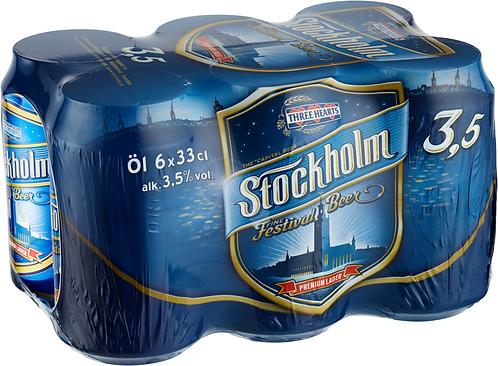 Stockholm FF 3,5% 6-pack