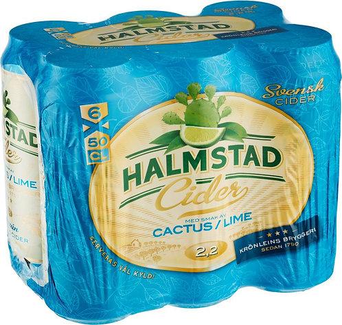 Halmstad Cider Cactus/Lime 2,2% 6-pack
