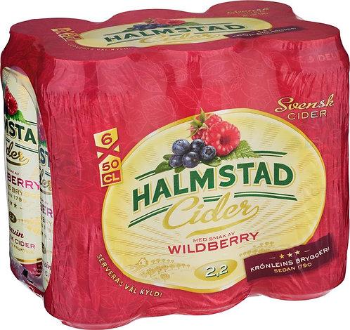 Halmstad Cider Wildberry 2,2% 6-pack