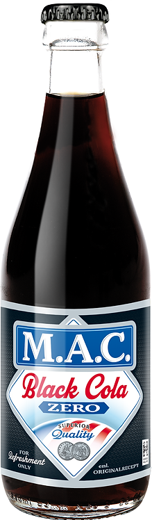 MAC Black Cola Zero 33cl