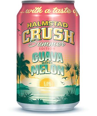 Crush Guana W Melon 5% burk 3-d ny färg