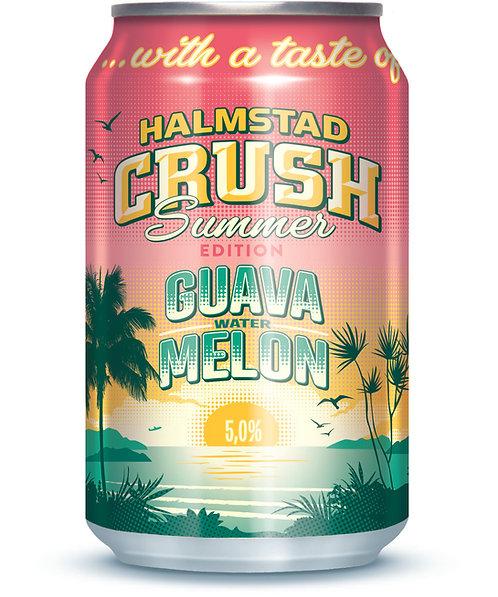 Halmstad Crush Guava Vattenmelon 5,0%