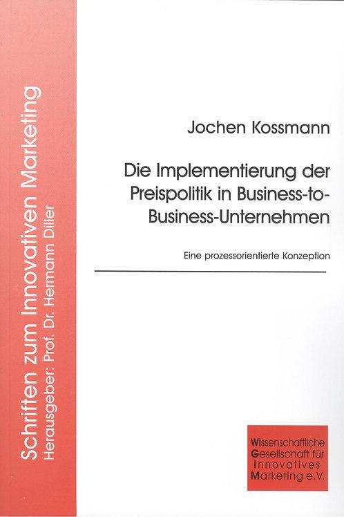 Die Implementierung der Preispolitik in Business-to-Business-Unternehmen