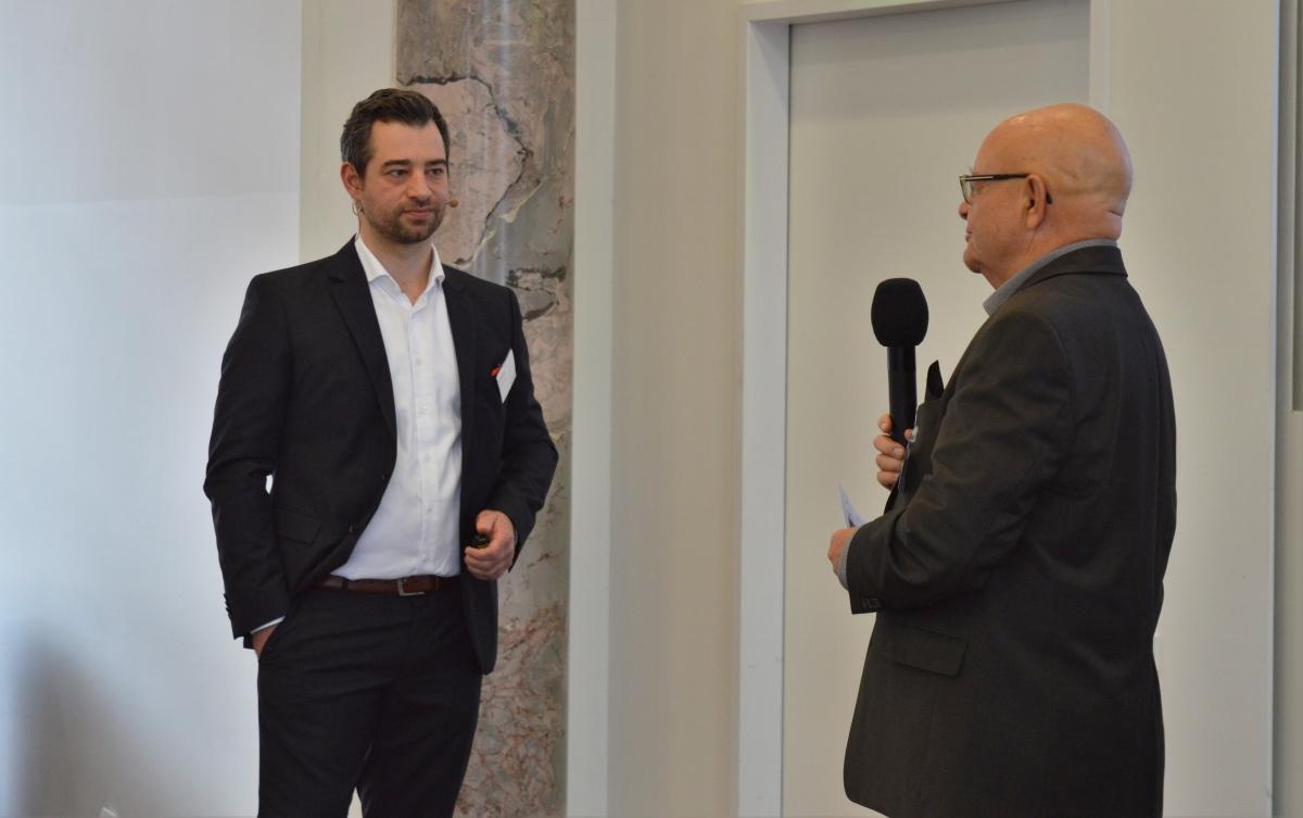 Prof. Diller & Martin Himmel