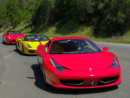Father's Day Gift (Exotic Car Drives and Tours)