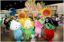 The Salads mascots