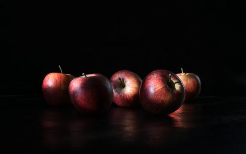 Les pommes des filles