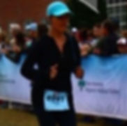 Coach Stacie Half Marathon Finish Wlmington, NC