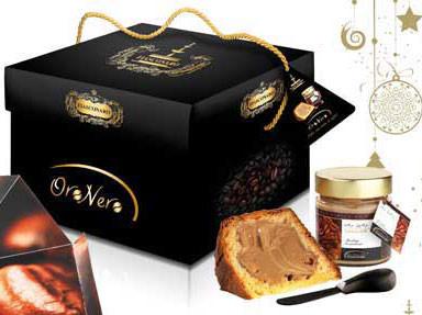 """""""Oro Nero""""- Dolce artigianale da fornocon gocce di cioccolatoe crema al caffè daspalmare. 1000 gr."""