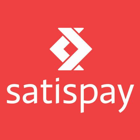 Da oggi puoi acquistare con Satispay
