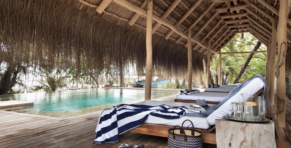 &Beyond - Benguerra lsand Guest Pool Area