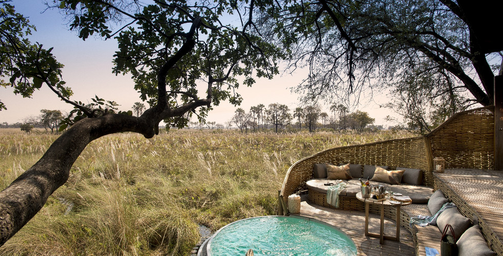 Sandibe Okavango Delta Lodge - Family Suite Splash Pool