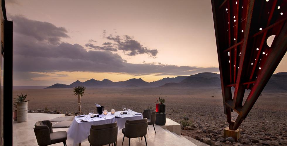 &Beyond - Sossusvlei Outdoor Dining