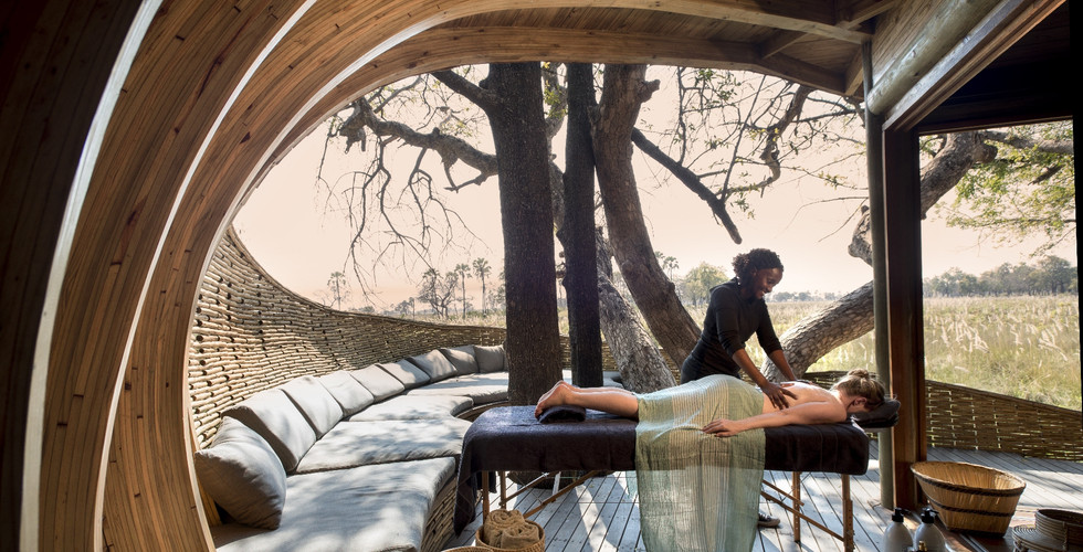 Sandibe Okavango Delta Lodge - Guest Suite Wellness Spa