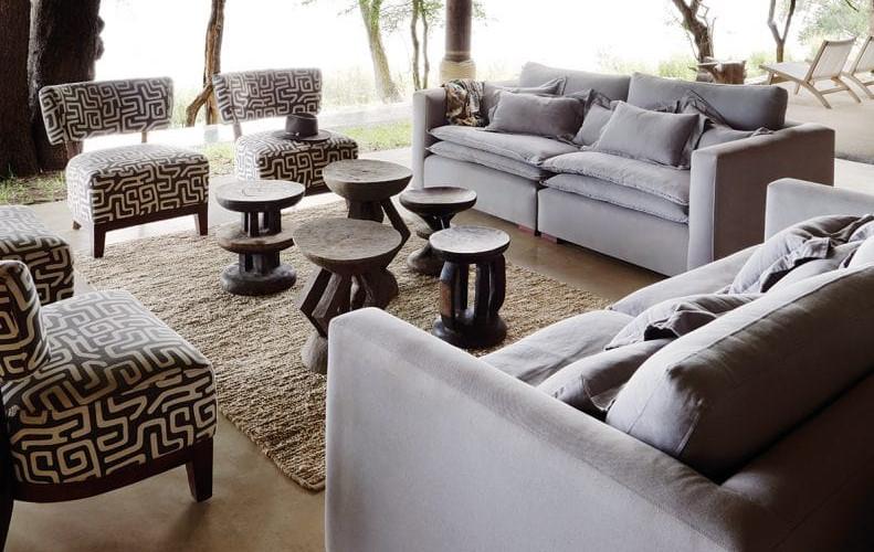 Matesti Victoria Falls - Family Suite Exterior Lounge