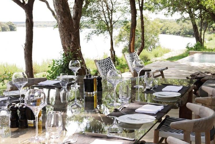 Matesti Victoria Falls - Outdoor Dining