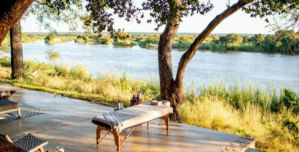 Matesti Victoria Falls - Spa Outdoor Treatment