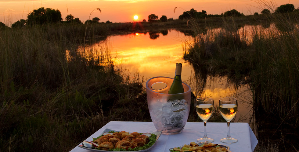 Ker & Downey Shinde Okavango Delta Lodge - Sundowner