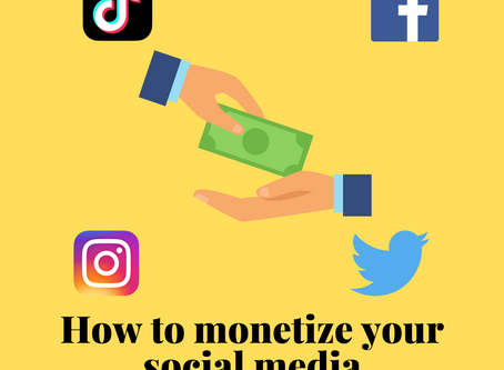 How to Monetize Your Social Media