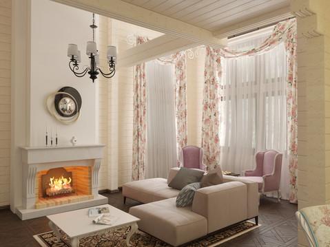 частный дом, коттедж на павловском водохранилище республика башкортостан интерьер в стиле кантри