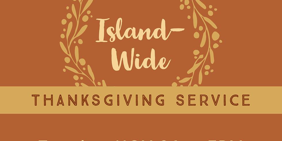 Island-wide Thanksgiving Service