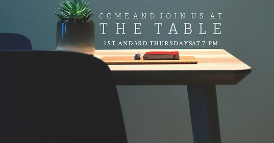 Join us latter for the table facebook po