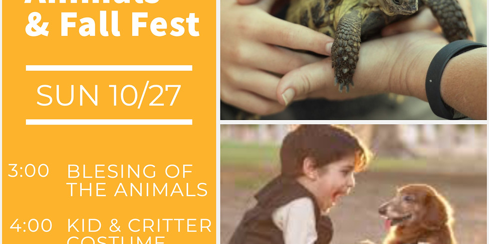 Blessing of the Animals & Fall Fest