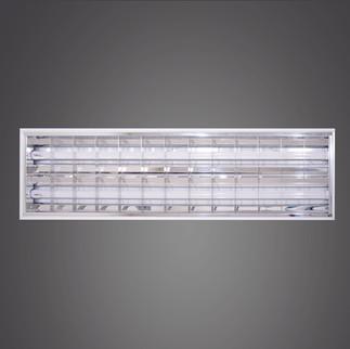 格柵燈盤-4尺2管