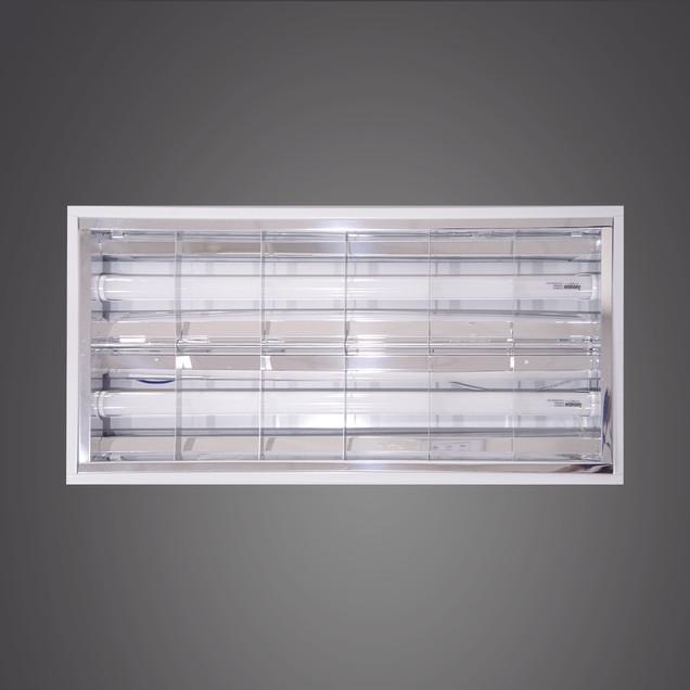 格柵燈盤-2尺2管
