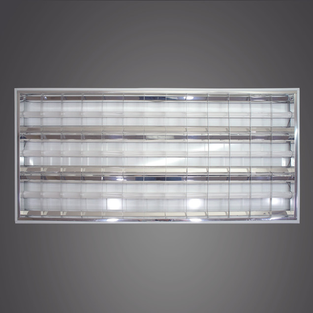 格柵燈盤-4尺3管