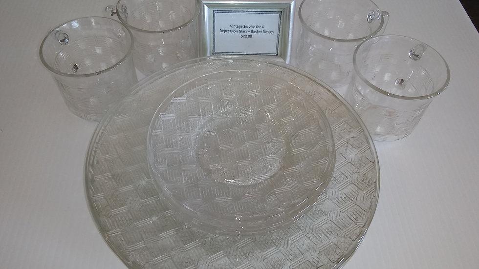 Vintage Depression Glass