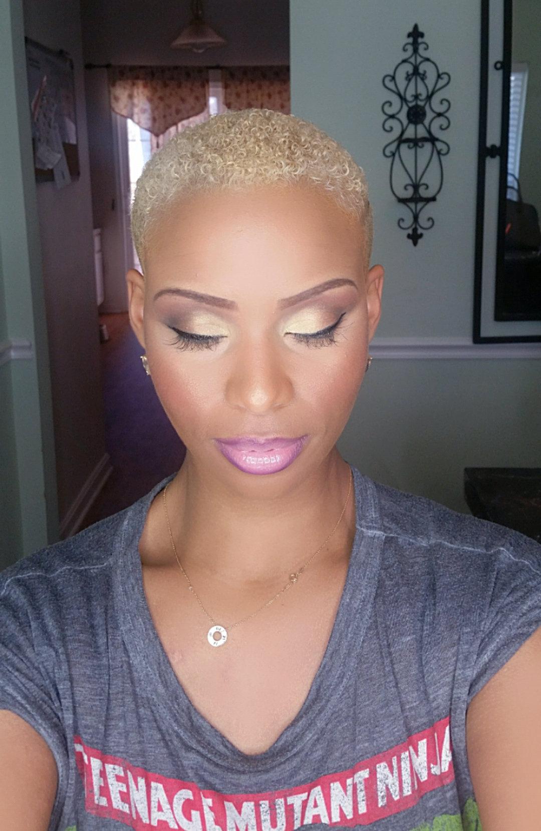 Full Face Makeup Application