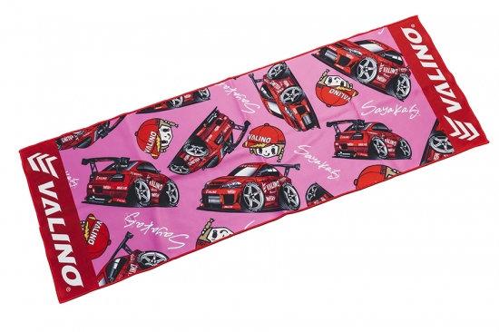 SAYAKA SHIMODA SPORTS TOWEL PINK
