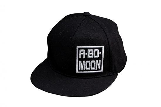ABO~MOON CAP Black/White