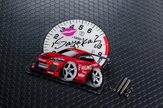 SAYAKA SHIMODA ACRYLIC CLOCK