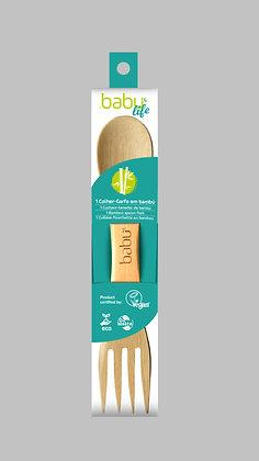 Colher-Garfo de Bambu da Babú