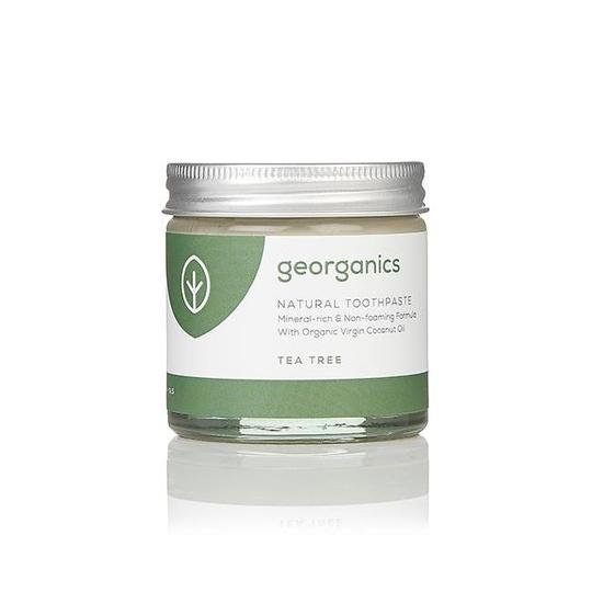 Pasta de Dentes Natural - Melaleuca (Tea Tree) da Georaganics