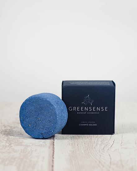 Champô Sólido - Cabelo e Barba [mentol e abeto] da Greensense