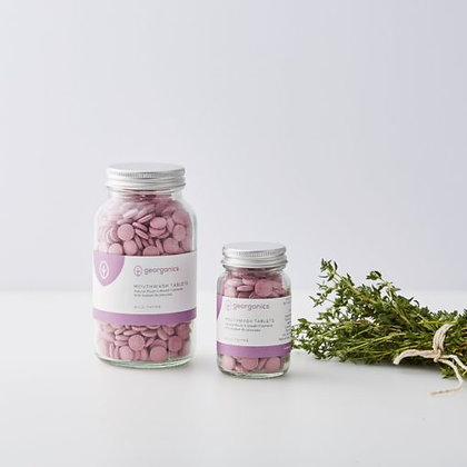 Pastilhas Elixir Bocal- Tomilho Selvagem da Georganics