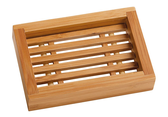Saboneteira Rectangular de Bambu de Croll & Denecke