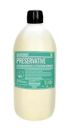 Preservative (sodium benzoate and potassium sorbate)
