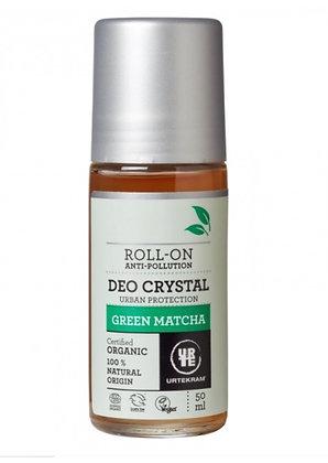 Deo Roll-on de Chá Verde Matcha da Urtekram